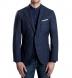 Zoom Thumb Image 1 of Hudson Navy Slub Weave Jacket
