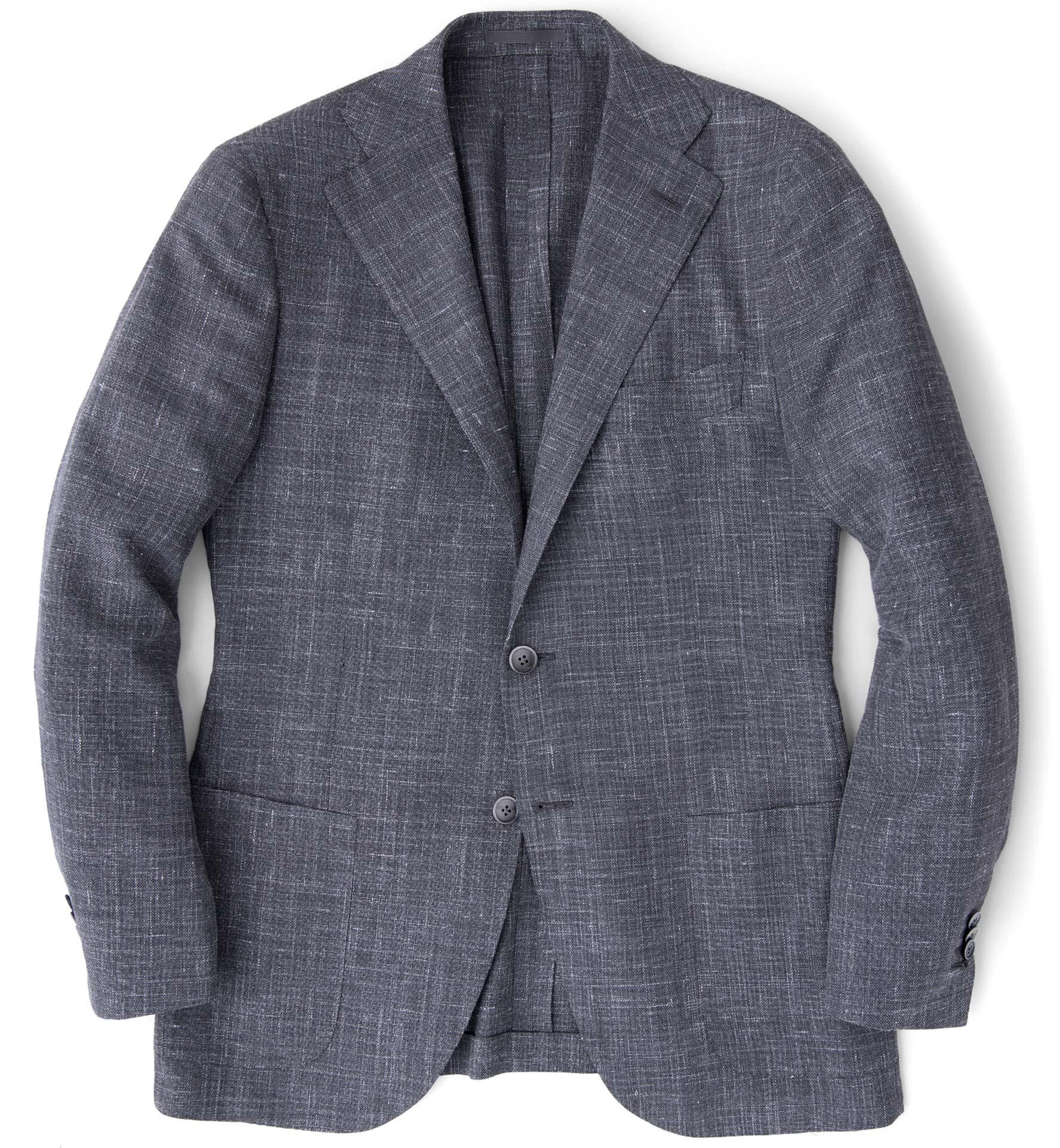 Zoom Image of Hudson Grey Slub Weave Jacket