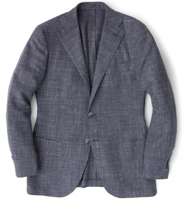 Hudson Grey Slub Weave Jacket