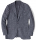 Zoom Thumb Image 6 of Hudson Grey Slub Weave Jacket