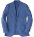 Zoom Thumb Image 6 of Hudson Ocean Blue Textured Micro Check Jacket
