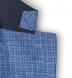 Zoom Thumb Image 4 of Hudson Ocean Blue Textured Micro Check Jacket