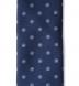Navy and Grey Silk Foulard Tie Product Thumbnail 3