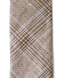 Beige and Light Blue Prince of Wales Linen Tie Product Thumbnail 3