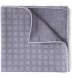 Grey Printed Cotton and Wool Square Product Thumbnail 1