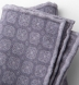 Grey Printed Cotton and Wool Square Product Thumbnail 2