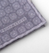 Grey Printed Cotton and Wool Square Product Thumbnail 3