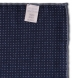 Navy Printed Cotton and Wool Square Product Thumbnail 4
