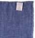Navy Melange Wool and Cotton Pocket Square Product Thumbnail 4