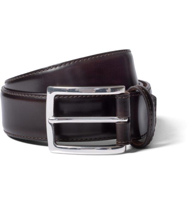 Dark Brown Cordovan Belt