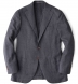 Zoom Thumb Image 11 of Hudson Grey Melange Wool Hopsack Jacket