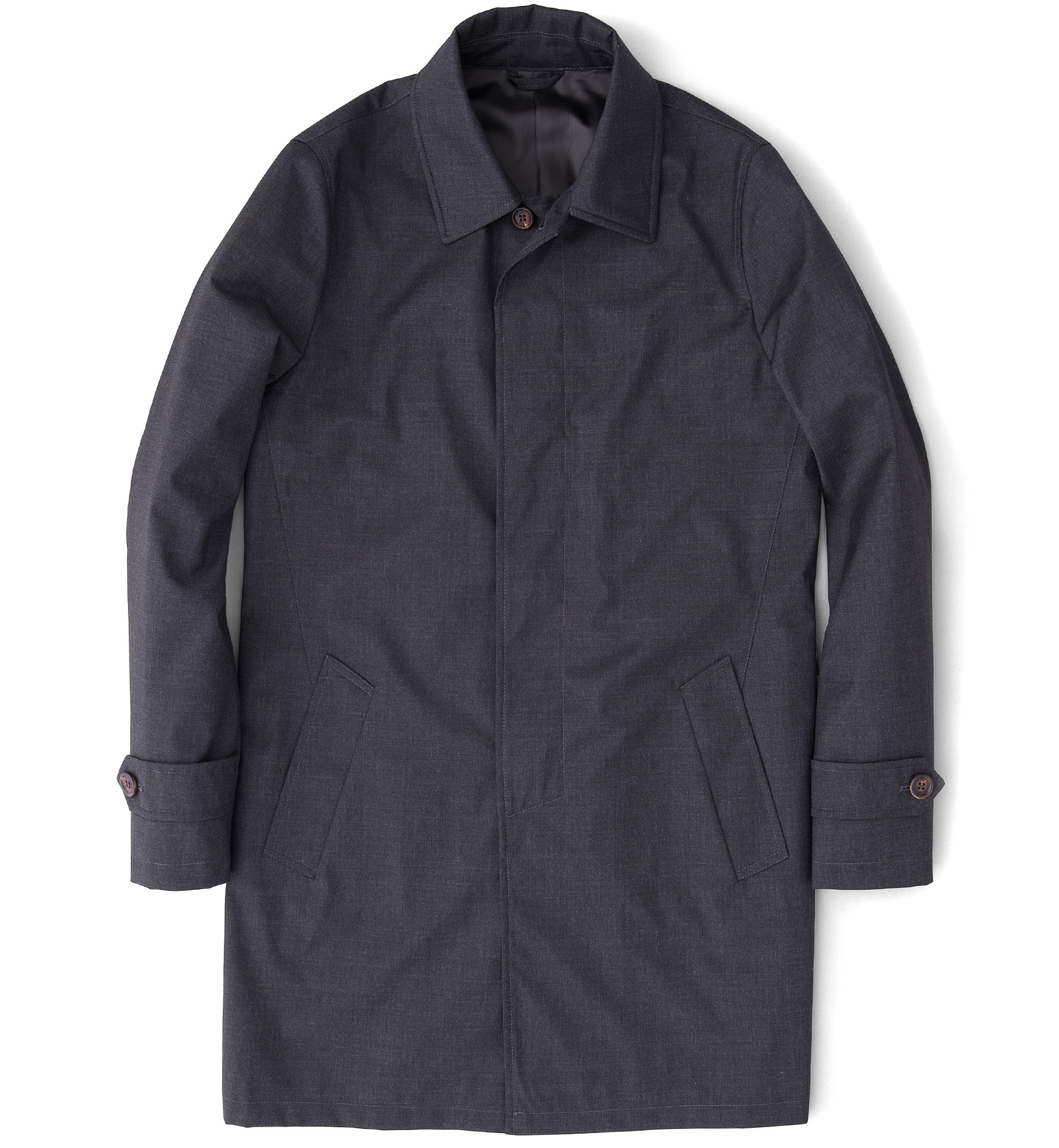 Zoom Image of Lazio Storm System Charcoal Raincoat
