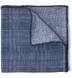 Zoom Thumb Image 1 of Slate Glen Plaid Cashmere Pocket Square