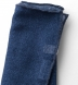 Navy Tipped Indigo Cashmere Pocket Square Product Thumbnail 2