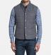 Cortina I Grey Slub Wool Blend Vest Product Thumbnail 6