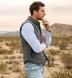 Cortina I Grey Slub Wool Blend Vest Product Thumbnail 7