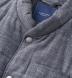 Cortina I Grey Slub Wool Blend Vest Product Thumbnail 2
