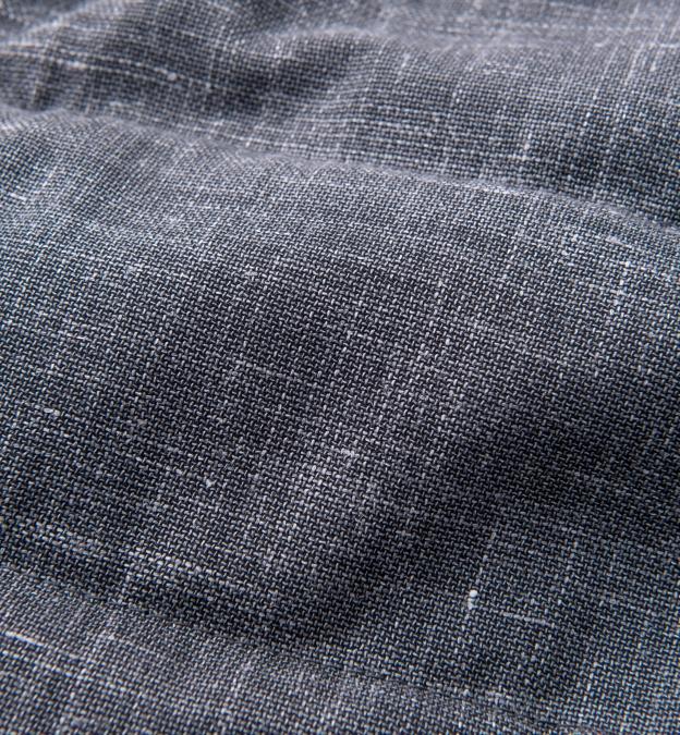 Cortina I Grey Slub Wool Blend Vest