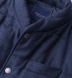Zoom Thumb Image 1 of Cortina I Navy Textured Flannel Snap Vest