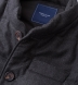 Zoom Thumb Image 1 of Cortina I Charcoal Flannel Button Vest