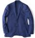 Zoom Thumb Image 6 of Hudson Ocean Blue Wool Flannel Hopsack Jacket
