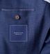 Zoom Thumb Image 5 of Hudson Ocean Blue Wool Flannel Hopsack Jacket