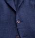 Zoom Thumb Image 2 of Hudson Navy Basketweave Wool Flannel Jacket