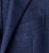 Zoom Thumb Image 4 of Hudson Navy Basketweave Wool Flannel Jacket