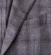 Zoom Thumb Image 3 of Hudson Grey Plaid Wool and Cashmere Flannel Jacket