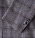 Zoom Thumb Image 4 of Hudson Grey Plaid Wool and Cashmere Flannel Jacket