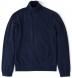 Zoom Thumb Image 6 of Navy Melange Cashmere Turtleneck Sweater