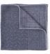 Grey Bandana Print Wool Pocket Square Product Thumbnail 1
