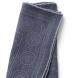 Grey Bandana Print Wool Pocket Square Product Thumbnail 4