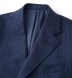 Bleecker Navy Wool and Cashmere Coat Product Thumbnail 4