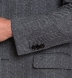 Bleecker Grey Herringbone Wool and Cashmere Coat Product Thumbnail 5