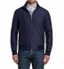 Lucca Navy Wool and Silk Performance Jacket Product Thumbnail 2