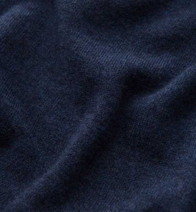 Slate Blue Merino Crewneck Sweater