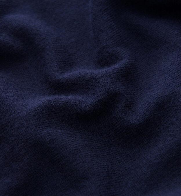 Navy Merino Crewneck Sweater