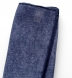 Zoom Thumb Image 3 of Navy Tipped Tonal Cotton and Linen Pocket Square