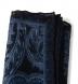 Zoom Thumb Image 2 of Navy Paisley Gauze Wool Pocket Square