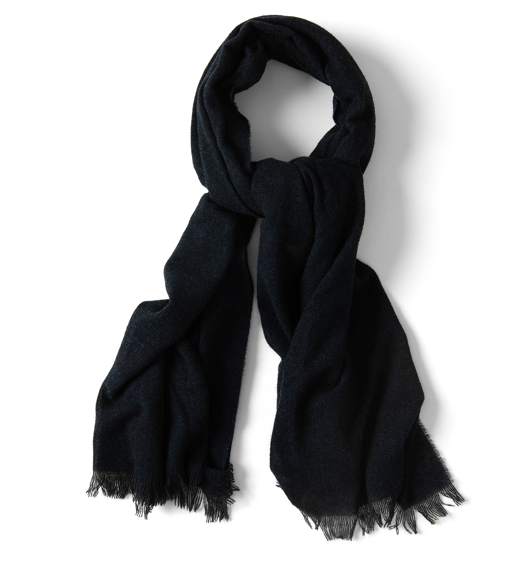 Zoom Image of Navy Cashmere Scarf