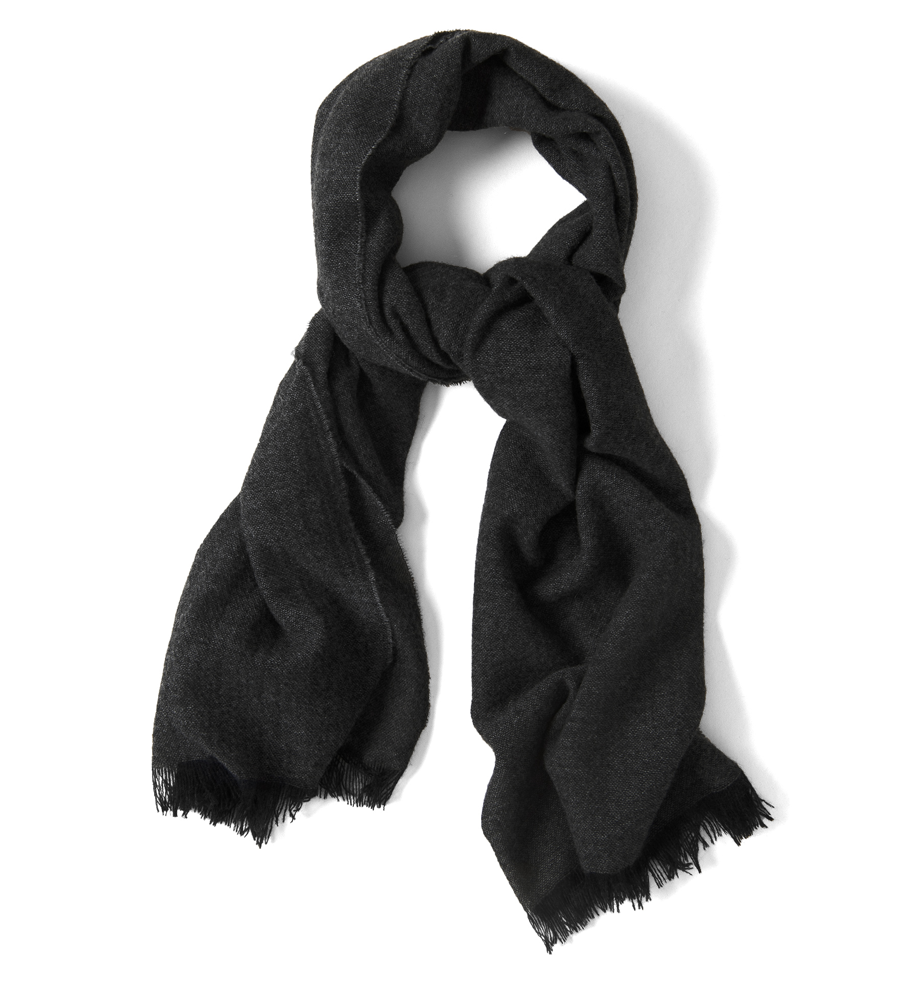 Zoom Image of Charcoal Cashmere Scarf
