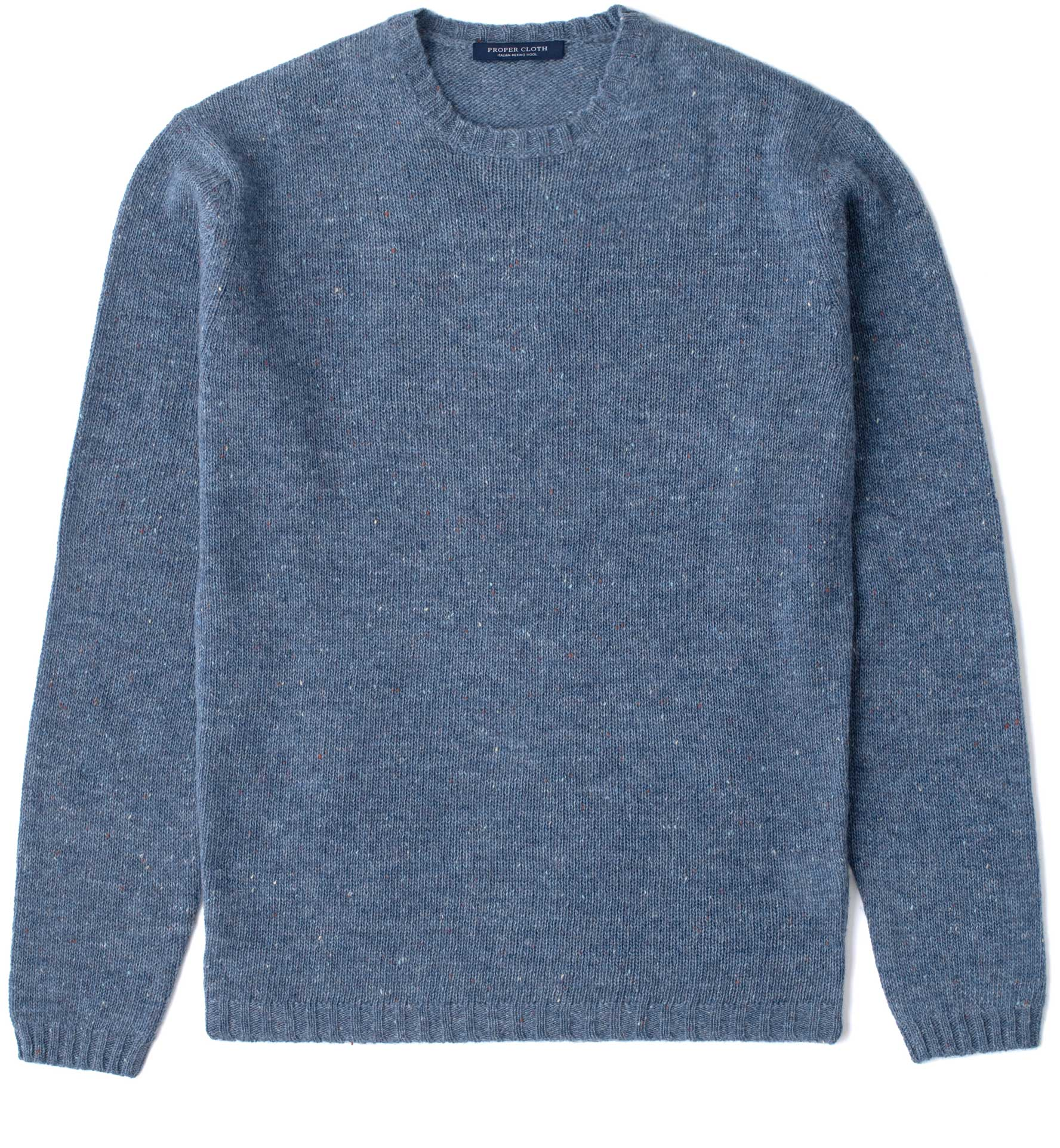 Zoom Image of Slate Donegal Lambswool Sweater