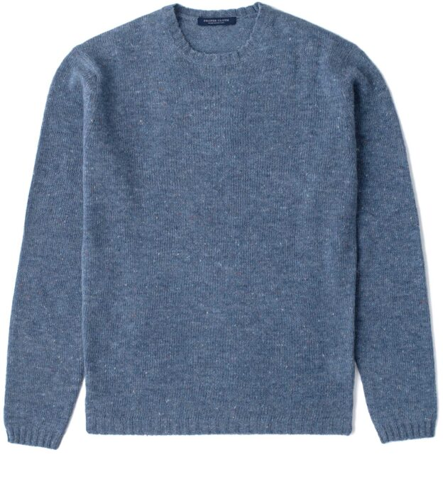 Slate Donegal Lambswool Sweater