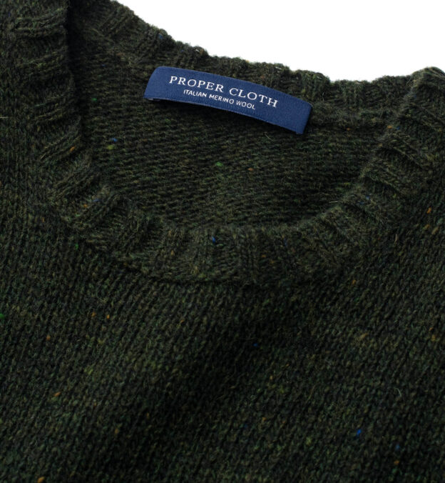 Pine Donegal Lambswool Sweater