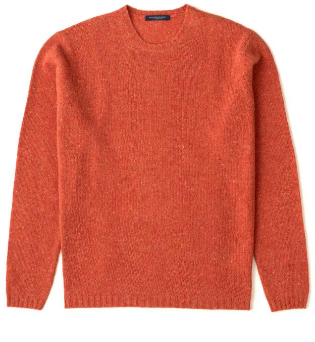 Pumpkin Donegal Lambswool Sweater