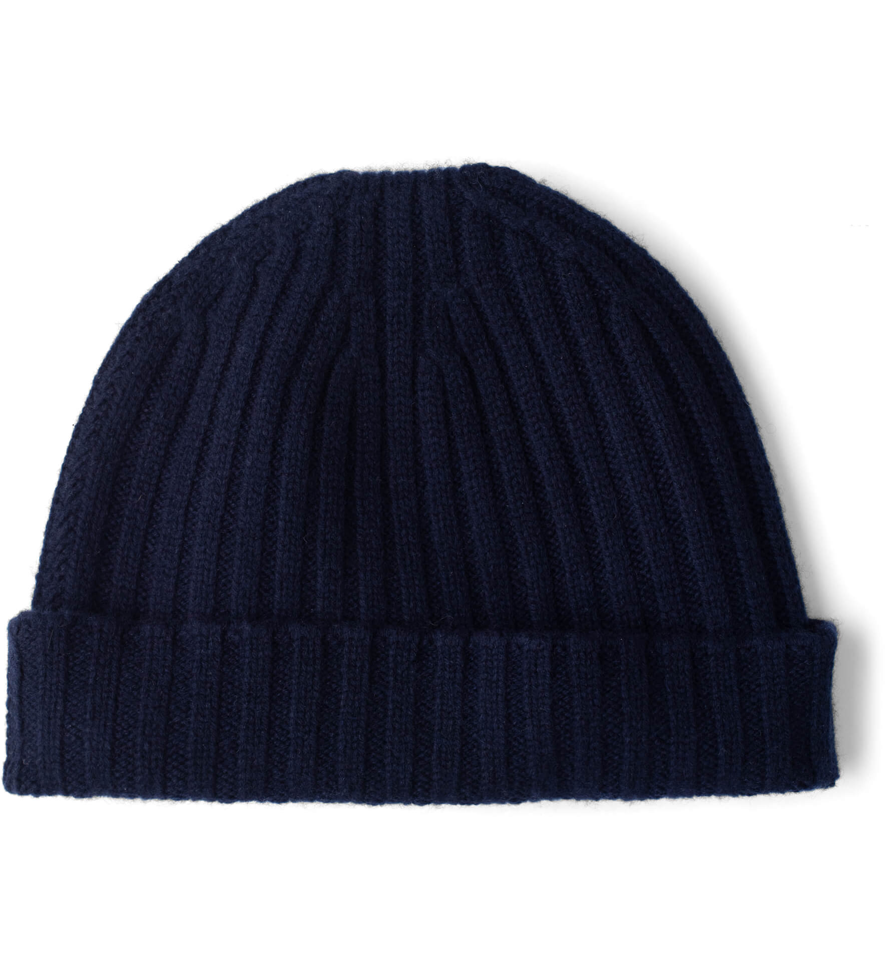 Zoom Image of Navy Cashmere Beanie