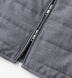 Zoom Thumb Image 4 of Brera Grey Lightweight Wool Zip Vest