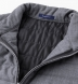 Zoom Thumb Image 2 of Brera Grey Lightweight Wool Zip Vest