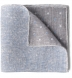 Zoom Thumb Image 1 of Light Grey Paisley Linen Cotton Pocket Square
